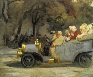 Reproduction oil paintings - John Sloan - Gray and Brass