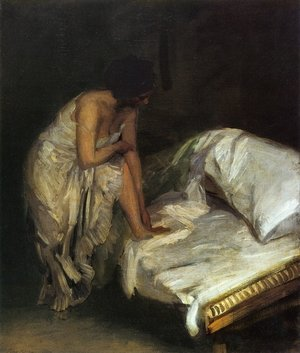 Reproduction oil paintings - John Sloan - The Cot