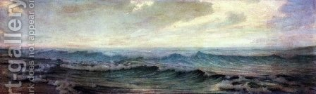 La Mer by Alexander Thomas Harrison - Reproduction Oil Painting
