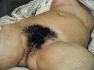 Famous paintings of Nude: The origin of the world