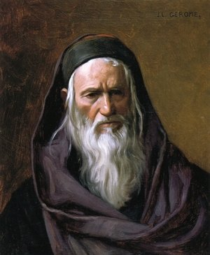 Reproduction oil paintings - Jean-Léon Gérôme - Portrait of a Shephardi