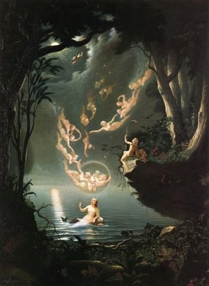Douglas Harvey reproductions - Oberon and the Mermaid, 1853
