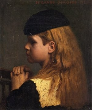 Reproduction oil paintings - Jean-Léon Gérôme - Portrait of a Girl