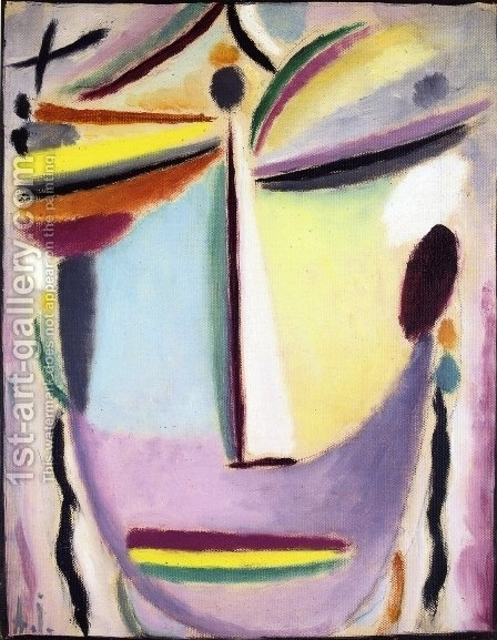 Heros (Illuminating) by Alexei Jawlensky - Reproduction Oil Painting