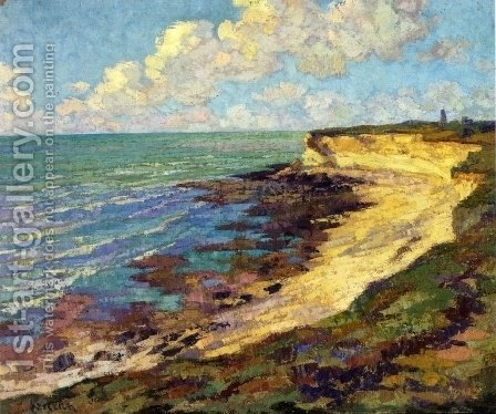 By the Sea by Gustave Loiseau - Reproduction Oil Painting