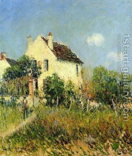 Veslez by Gustave Loiseau - Reproduction Oil Painting