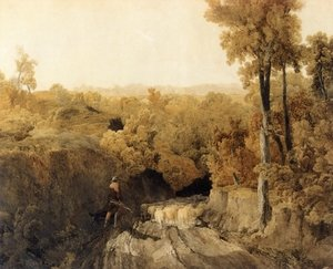 Reproduction oil paintings - Turner - In the Forest of Wychwood