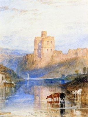 Reproduction oil paintings - Turner - Norham Castle on the Tweed