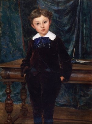 Reproduction oil paintings - Jules Bastien-Lepage - The Little Lord