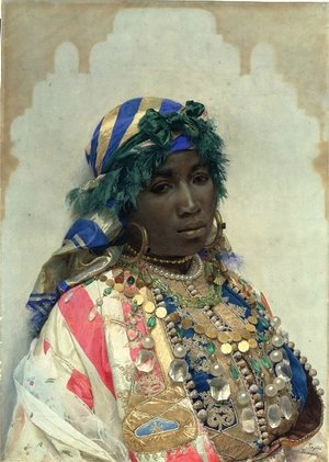 Famous paintings of Black Art: Mujer de color