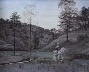 Reproduction oil paintings - Walter Crane - The White Knight