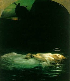 Famous paintings of Christianity: The Young Martyr