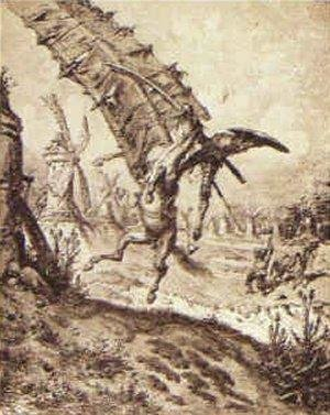 Don Quixote and the Windmill
