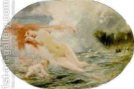 The Birth of Venus by Henri Gervex - Reproduction Oil Painting