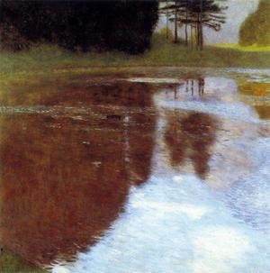 Reproduction oil paintings - Gustav Klimt - Still Pond