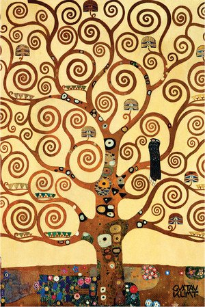 Reproduction oil paintings - Gustav Klimt - Tree of Life