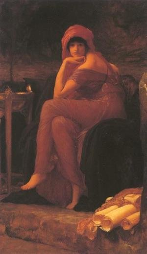 Reproduction oil paintings - Lord Frederick Leighton - Sybil