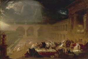 Reproduction oil paintings - John Martin - Belshazzar's Feast