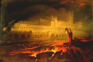 Reproduction oil paintings - John Martin - Pandemonium