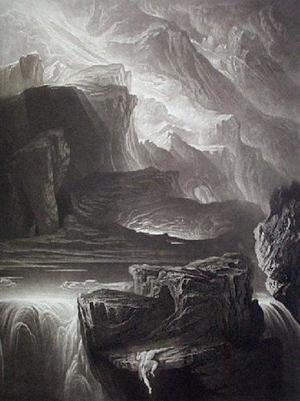 Reproduction oil paintings - John Martin - Sadak in Search