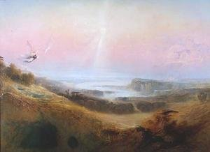 Reproduction oil paintings - John Martin - The Celestial City and River of Bliss