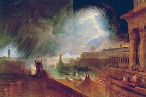 Reproduction oil paintings - John Martin - The Seventh Plague of Egypt