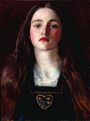 Reproduction oil paintings - Sir John Everett Millais - Portrait of a Girl (Sophie Gray)