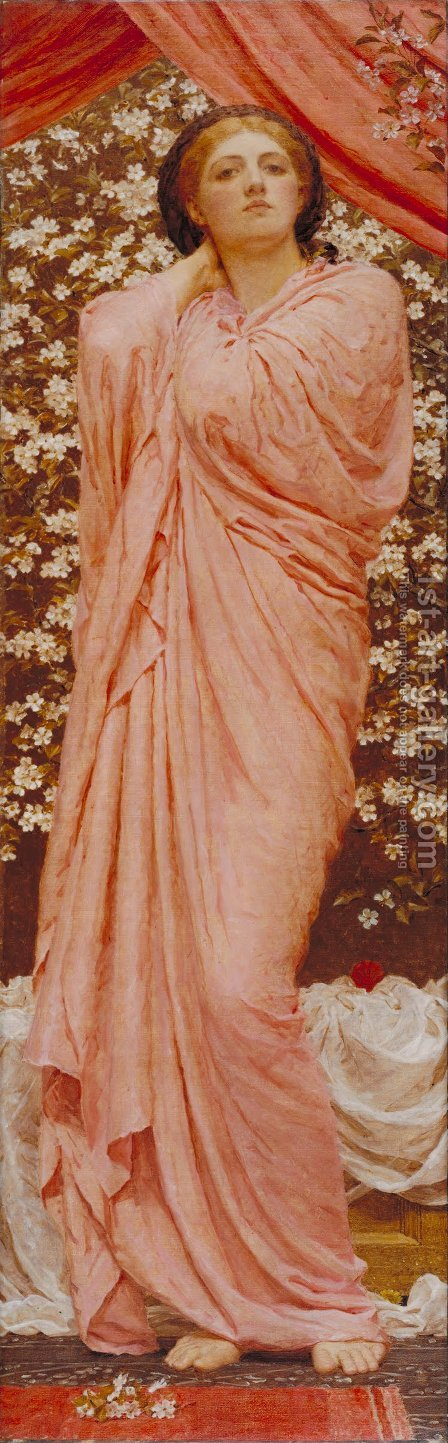 Blossoms by Albert Joseph Moore - Reproduction Oil Painting