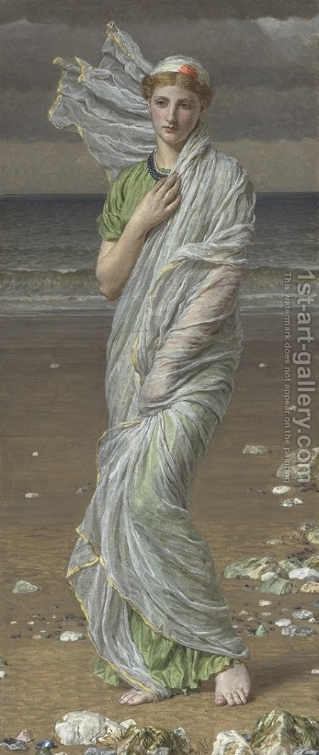 Shells by Albert Joseph Moore - Reproduction Oil Painting