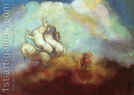 Odilon Redon: Phaethon - reproduction oil painting