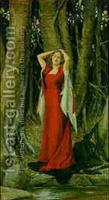 Isolde I by Henry Meynell Rheam - Reproduction Oil Painting