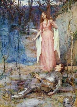 Henry Meynell Rheam reproductions - La Belle Dame Sans Merci