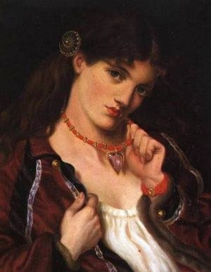 Reproduction oil paintings - Maria Euphrosyne Spartali, later Stillman - Jolie Coeur