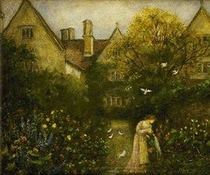 Reproduction oil paintings - Maria Euphrosyne Spartali, later Stillman - Kelmscott Manor