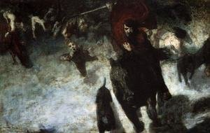 Famous paintings of Devils & Demons: Wild Chase