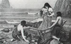 Reproduction oil paintings - Waterhouse - Danae