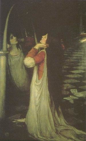 Reproduction oil paintings - Waterhouse - Study for Mariana in the South