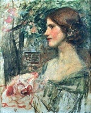 Reproduction oil paintings - Waterhouse - Study for The Bouquet