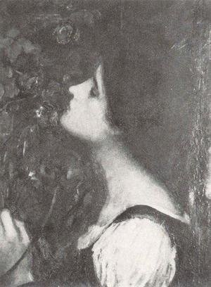 Reproduction oil paintings - Waterhouse - Study for The Soul of the Rose
