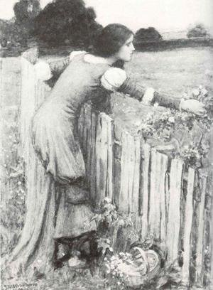 Reproduction oil paintings - Waterhouse - The Flower Picker I