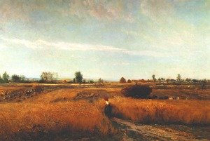 Reproduction oil paintings - Charles-Francois Daubigny - Harvest
