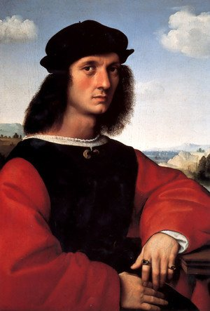 Reproduction oil paintings - Raphael - Portrait of Agnolo Doni I
