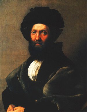 Reproduction oil paintings - Raphael - Portrait of Baldassare Castiglione