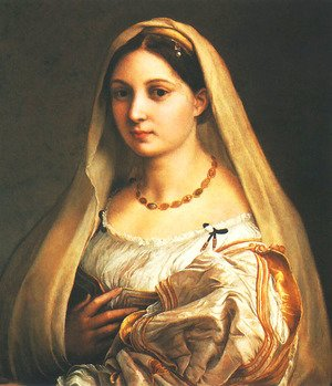 Reproduction oil paintings - Raphael - Veiled Lady (La Velata)