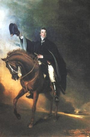 Sir Thomas Lawrence reproductions - Duke of Wellington