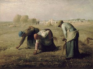 Reproduction oil paintings - Jean-Francois Millet - Gleaners