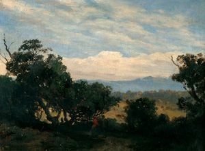 Reproduction oil paintings - Louis Buvelot - Mount Martha