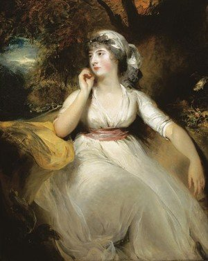 Reproduction oil paintings - Sir Thomas Lawrence - Portrait of Miss Selina Peckwell, Mrs Grote (1775-1845)