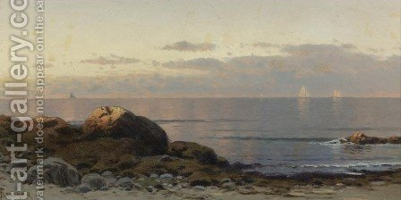 Seascape I 2 by Alfred Thompson Bricher - Reproduction Oil Painting