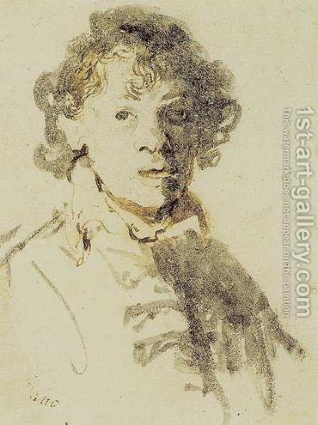Self-Portrait I by Harmenszoon van Rijn Rembrandt - Reproduction Oil Painting